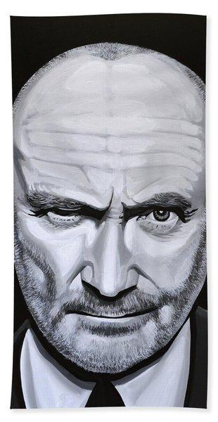 Phil Collins Hand Towel