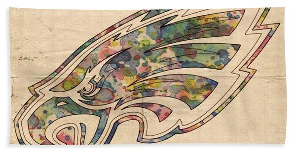 Philadelphia Eagles Poster Vintage Hand Towel
