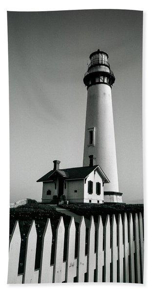 Pigeon Point Lighthouse Bath Towel