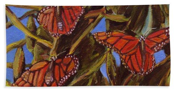 Pismo Monarchs Bath Towel