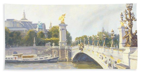 Pont Alexandre IIi Hand Towel