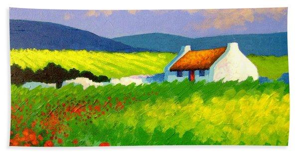 Poppy Field - Ireland Hand Towel