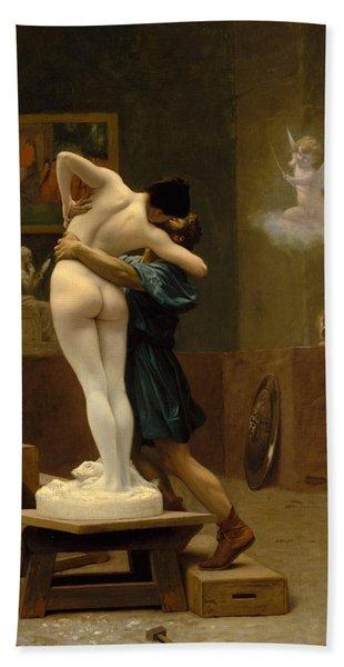 Pygmalion And Galatea Bath Towel