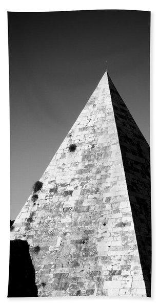 Pyramid Of Cestius Hand Towel