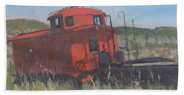Red - Art By Bill Tomsa Bath Towel