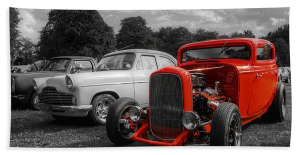 Red Deuce Coupe Hand Towel