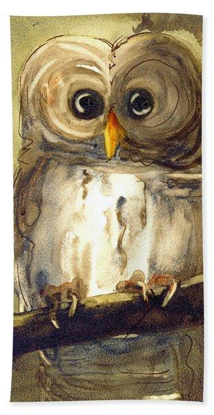 Redbird Cottage Owl Hand Towel