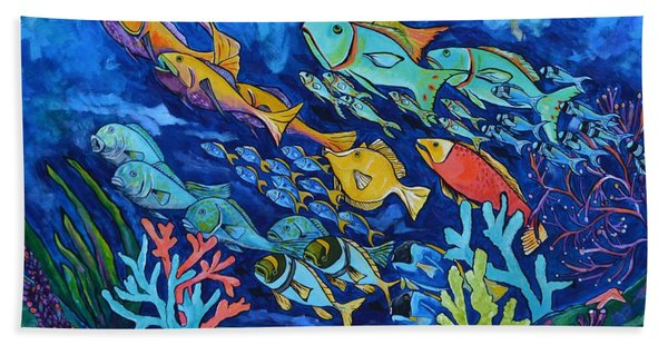 Reef Fish Bath Towel