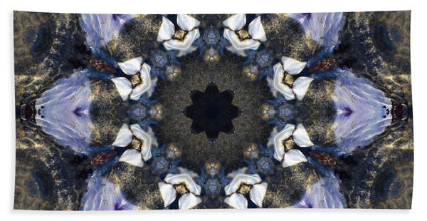 Reflection - Kaleidoscope Art Hand Towel