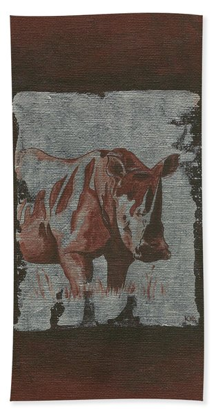 Rhinoceros Hand Towel