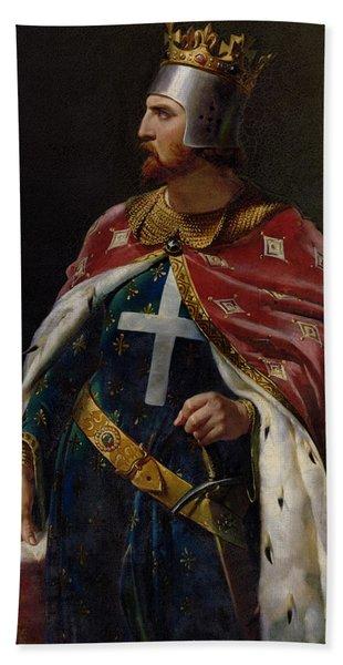Richard I The Lionheart Hand Towel