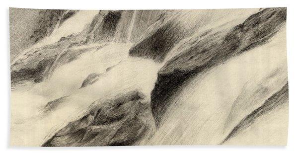 River Stream Bath Towel