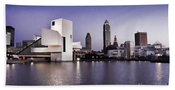 Rock And Roll Hall Of Fame - Cleveland Ohio - 2 Bath Towel