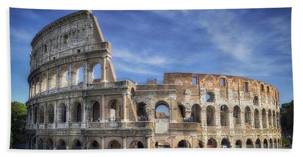 Roman Icon Bath Towel