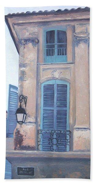 Rue Espariat Aix-en-provence Hand Towel