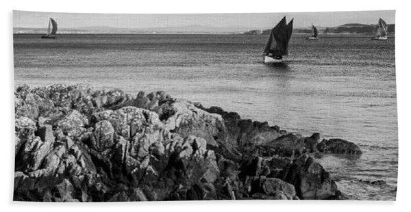 Sail Away Northern Ireland Bath Towel