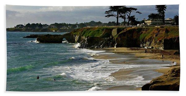 Santa Cruz Beach Hand Towel