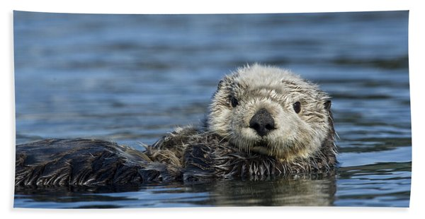 Sea Otter Alaska Bath Towel