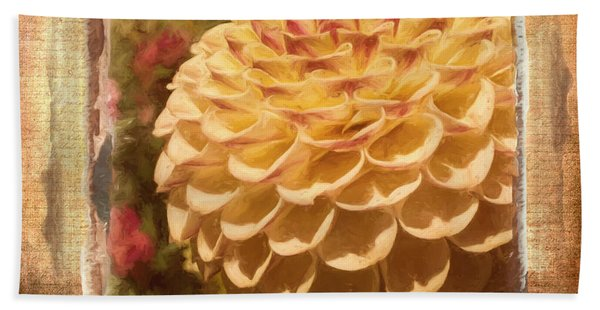 Simply Moments - Flower Art Hand Towel