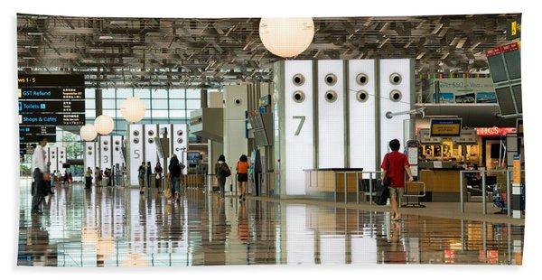 Singapore Changi Airport 02 Bath Towel
