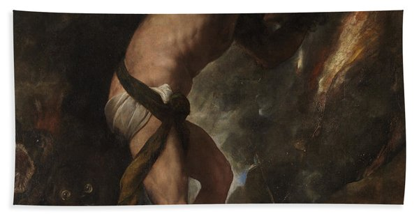 Sisyphus Hand Towel