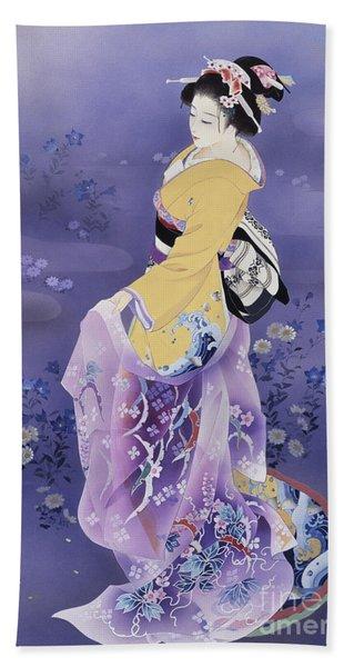 Skiyu Purple Robe Bath Towel