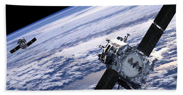 Solar Terrestrial Relations Observatory Satellites Bath Towel