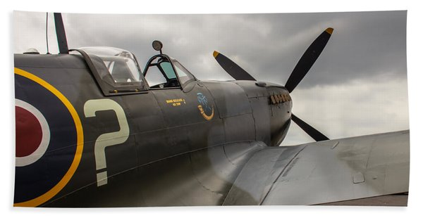 Spitfire On Display Hand Towel