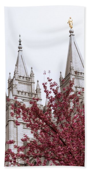 Spring At The Temple Hand Towel