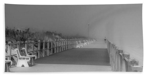 Spring Lake Boardwalk - Jersey Shore Bath Towel