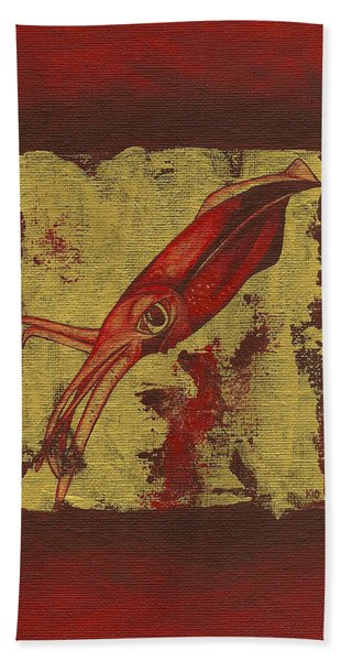 Squid Hand Towel