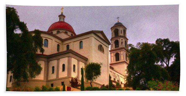 St. Thomas Aquinas Church Large Canvas Art, Canvas Print, Large Art, Large Wall Decor, Home Decor Hand Towel