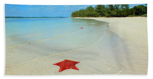 Starfish 5 Of Bottom Harbour Sound Hand Towel