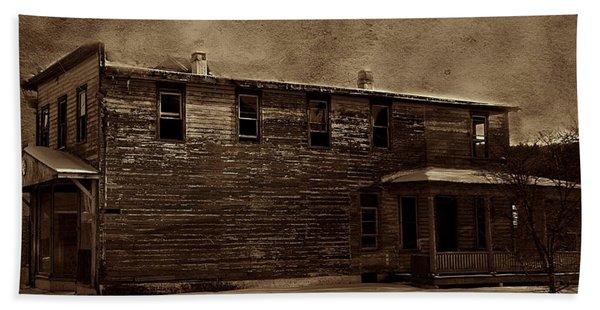 Storm Of 1888 Bath Towel