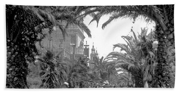 Avenue Of The Palms, San Francisco Bath Towel