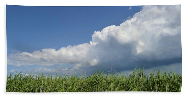 Suffolk Skies Hand Towel