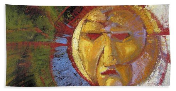 Sun Mask Hand Towel