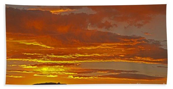 Sunrise Capitol Reef National Park Hand Towel