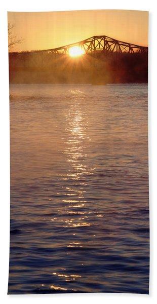 Sunrise Over Table Rock Bath Towel