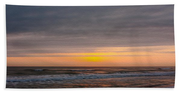 Sunrise Under The Clouds Hand Towel