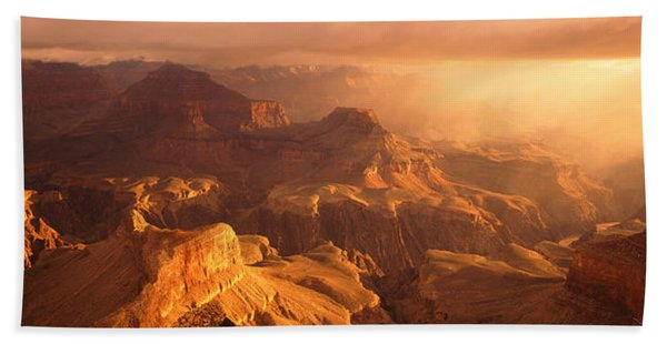 Sunrise View From Hopi Point Grand Hand Towel