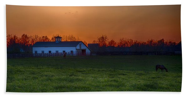 Walmac Farm Ky  Bath Towel