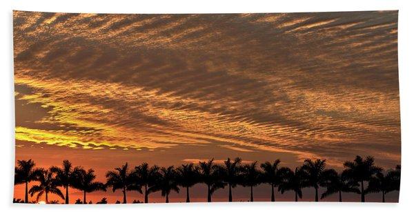 Sunset Florida Bath Towel