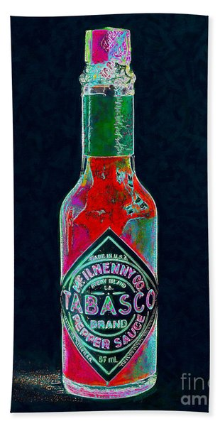 Tabasco Sauce 20130402 Bath Towel