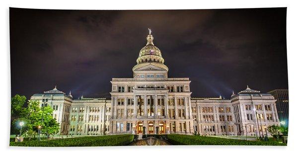 Texas Capitol Building Bath Towel