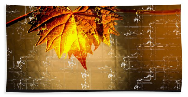 Bath Towel featuring the photograph Thanksgiving Card by Carolyn Marshall
