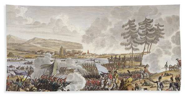 The Battle Of Friedland, 14 June 1807 Bath Towel