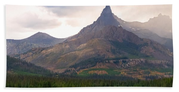 The Beartooth Mountains   Bath Towel