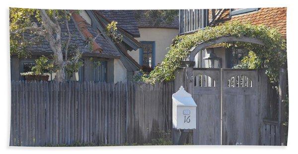 The Courtyard  Hand Towel