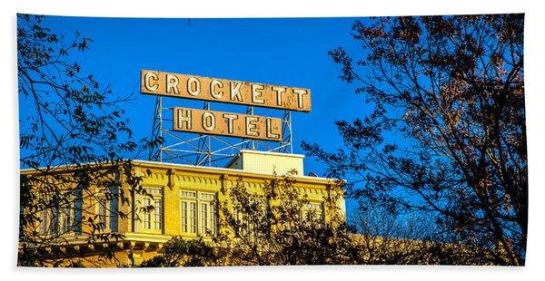 The Crockett Hotel Hand Towel